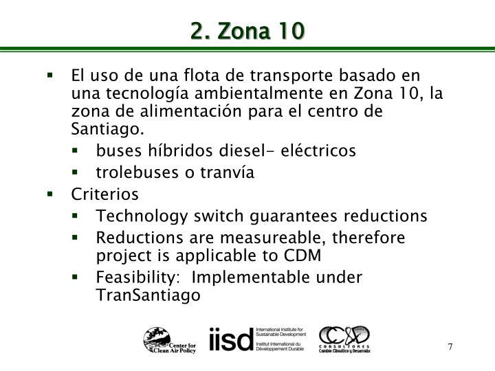 2. Zona 10