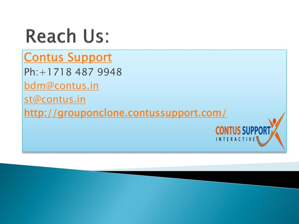 Reach Us: