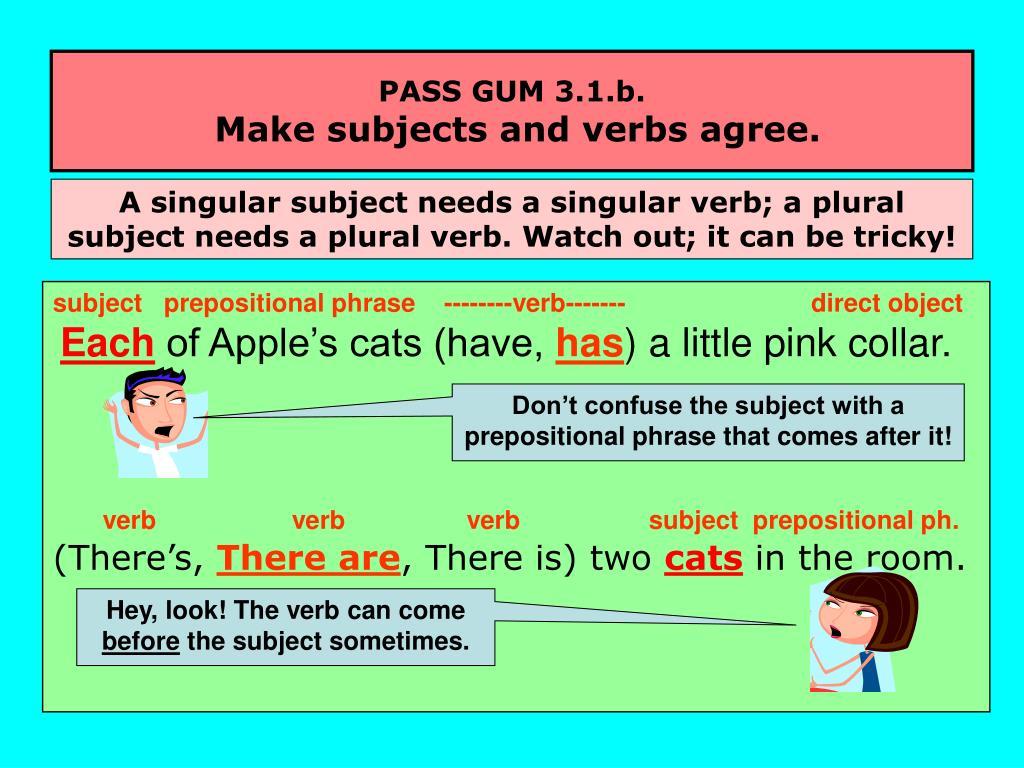 PASS GUM 3.1.b.