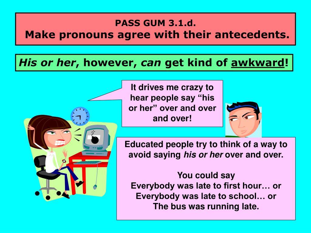 PASS GUM 3.1.d.