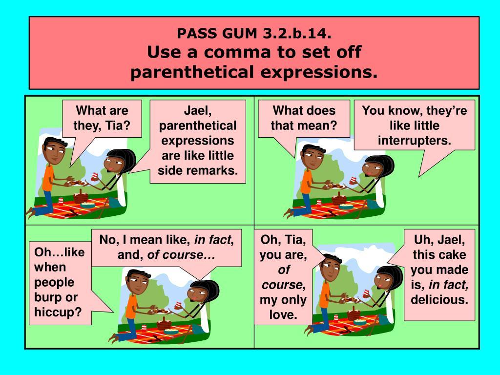 PASS GUM 3.2.b.14.