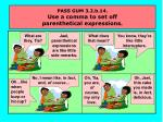 pass gum 3 2 b 14 use a comma to set off parenthetical expressions