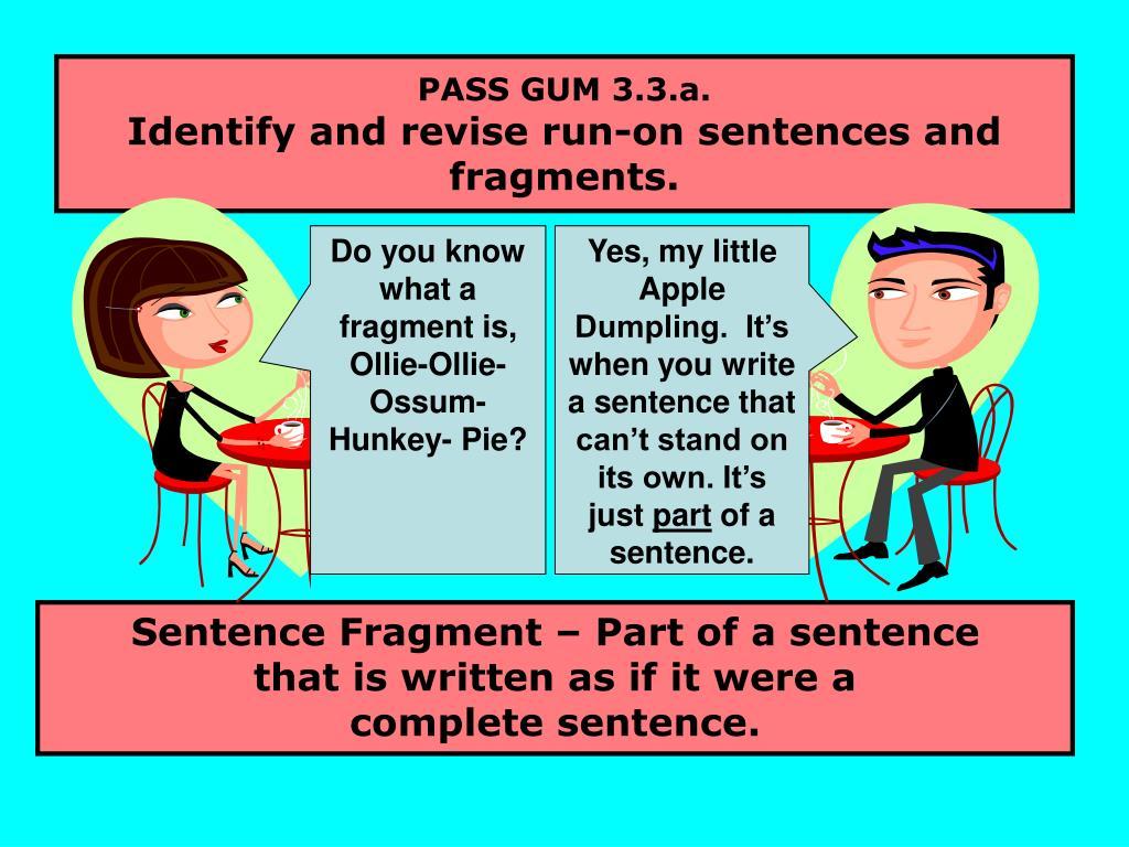 PASS GUM 3.3.a.