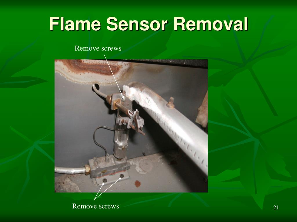 Flame Sensor Removal