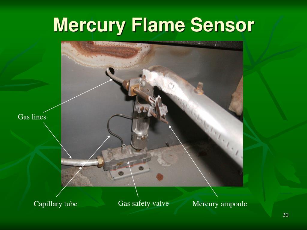 Mercury Flame Sensor