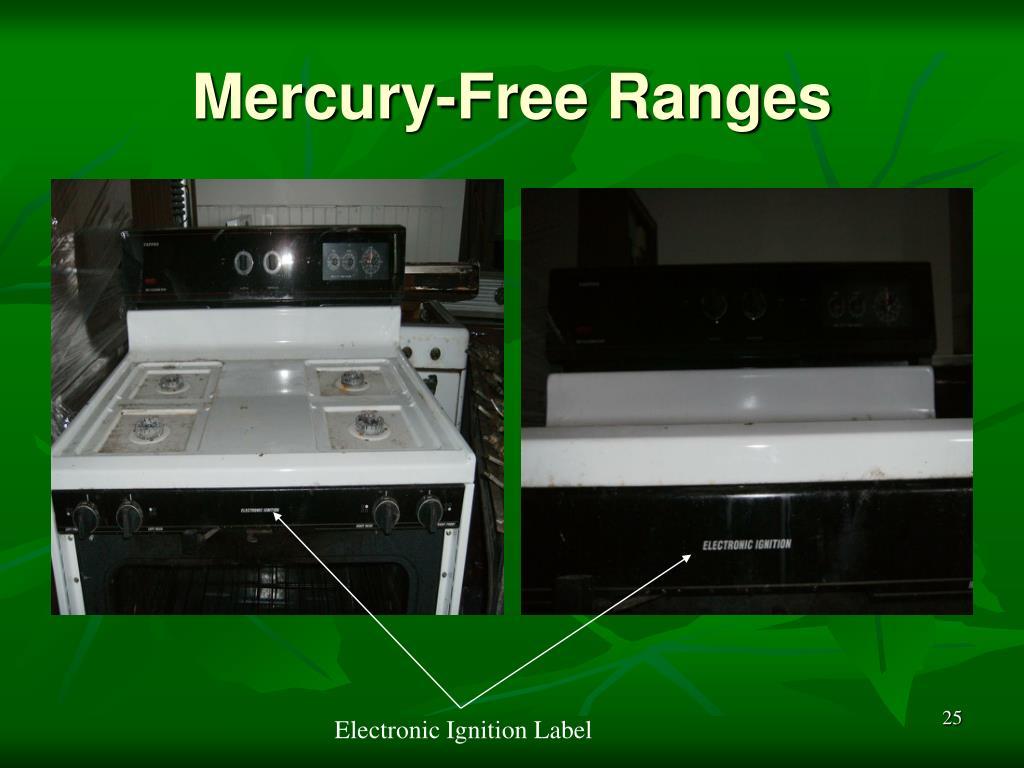 Mercury-Free Ranges