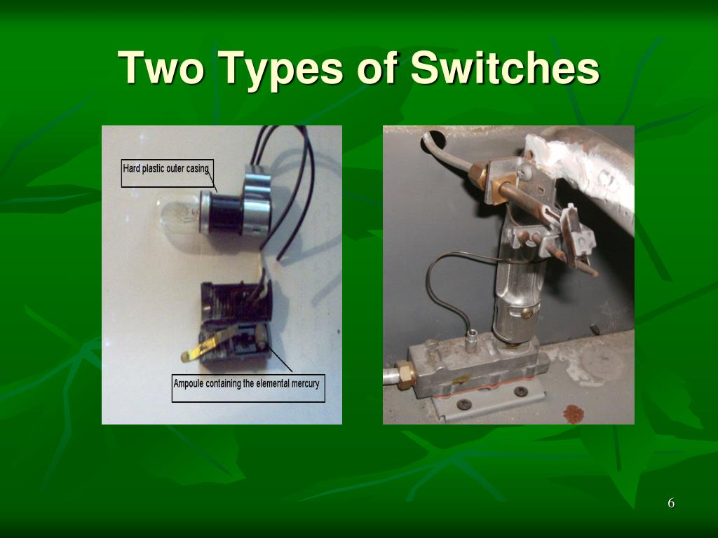 Two Types of Switches