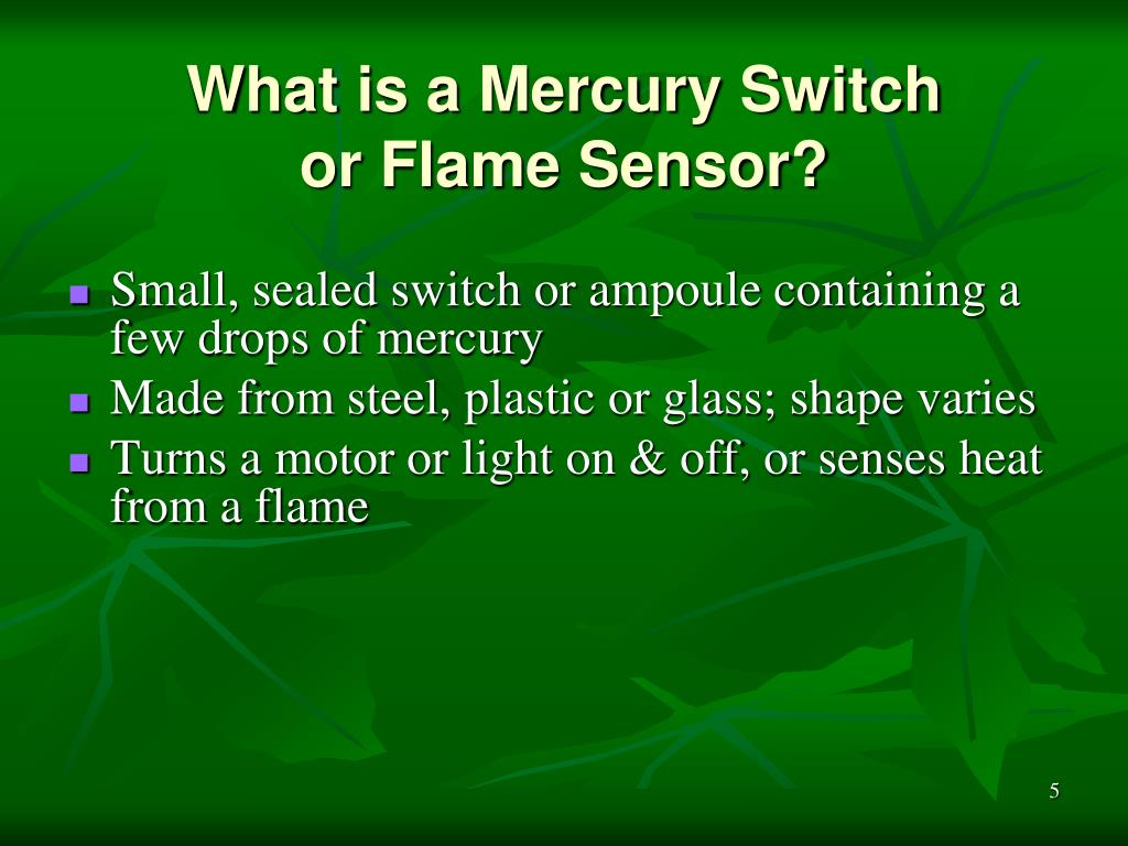 What is a Mercury Switch