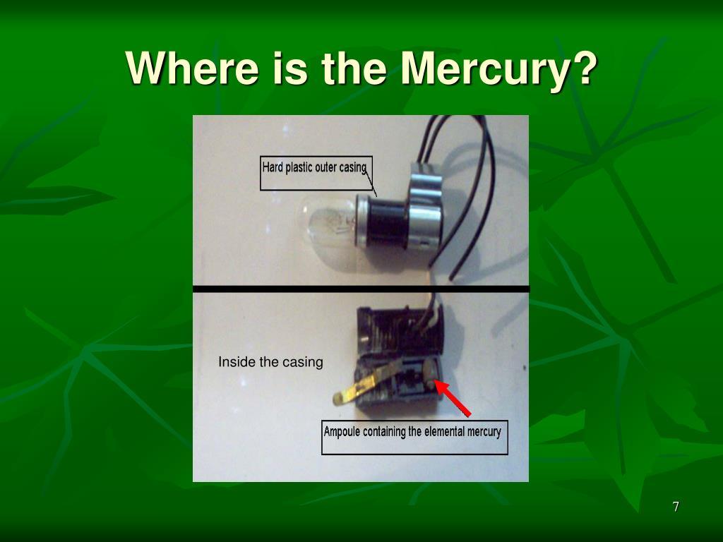 Where is the Mercury?