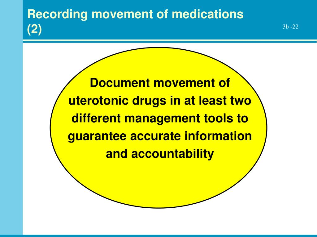 Recording movement of medications (2)