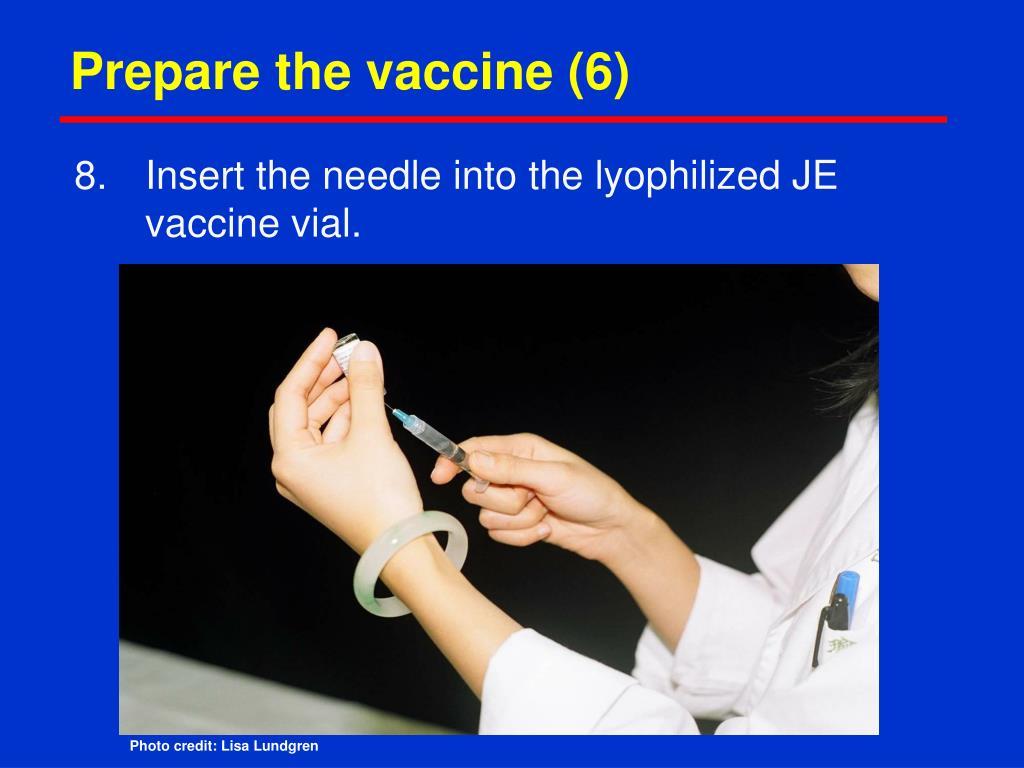 Prepare the vaccine (6)