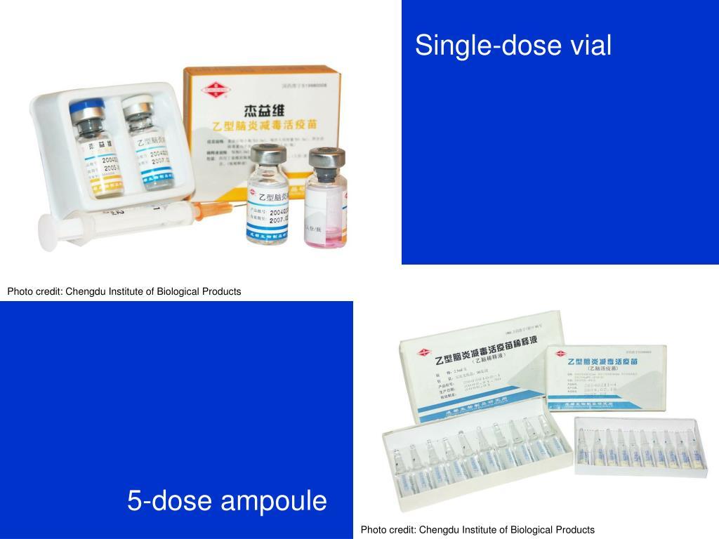 Single-dose vial