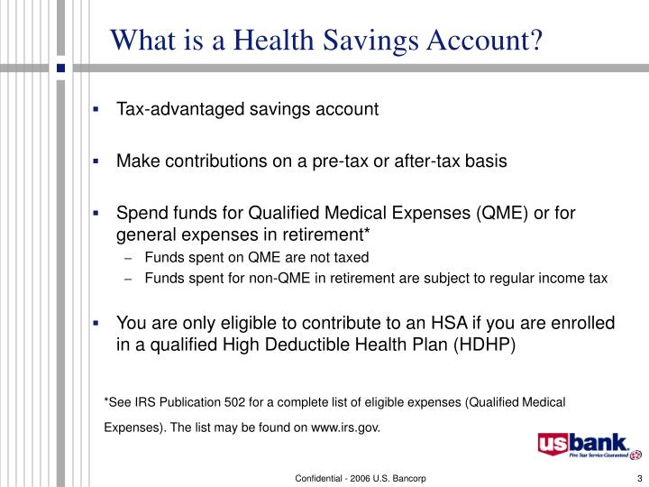 What is a health savings account