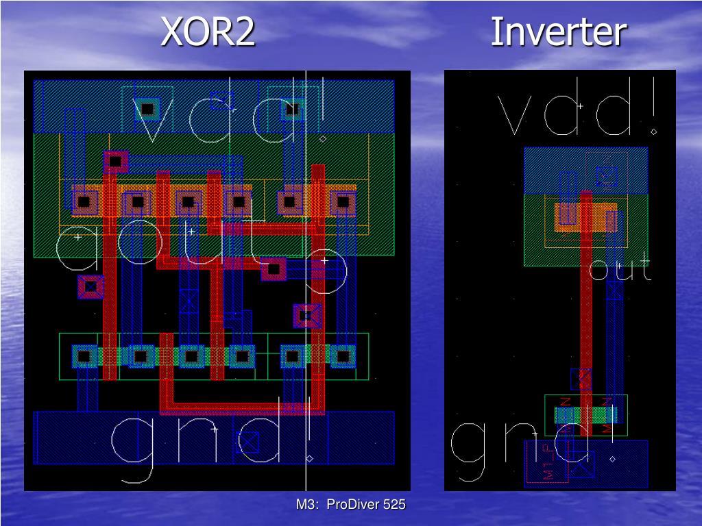 XOR2       Inverter