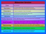 midazolam solution