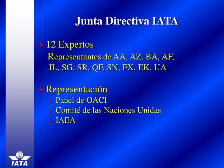 Junta Directiva IATA