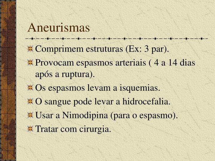Aneurismas