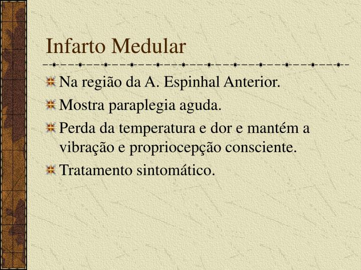 Infarto Medular