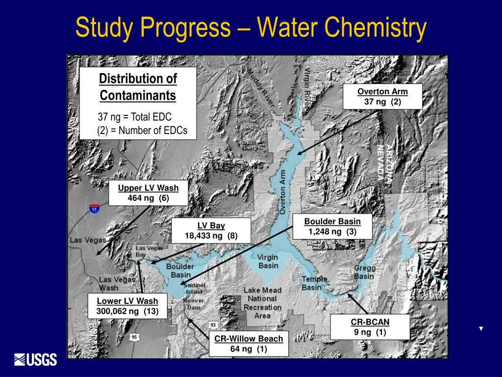 Study Progress – Water Chemistry