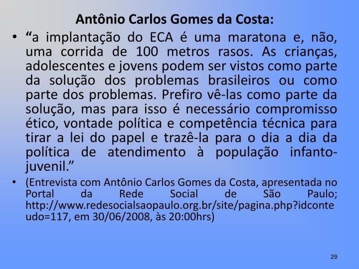 Antônio Carlos Gomes da Costa: