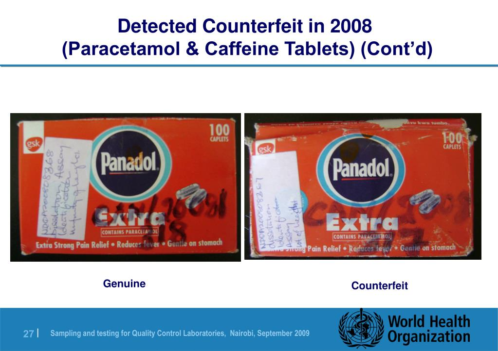 Detected Counterfeit in 2008