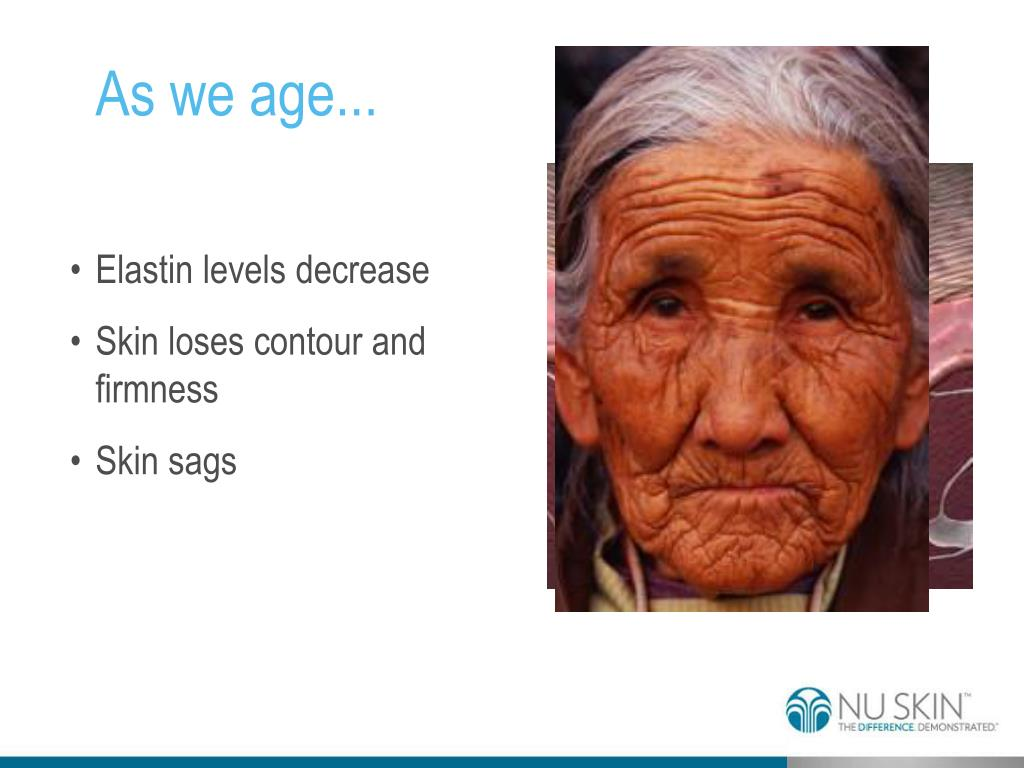 As we age...