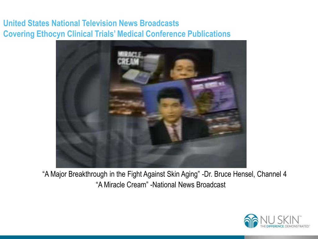 United States National Television News Broadcasts