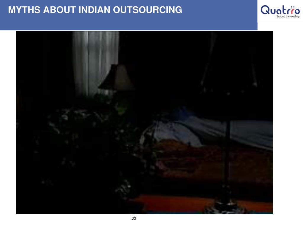 MYTHS ABOUT INDIAN OUTSOURCING