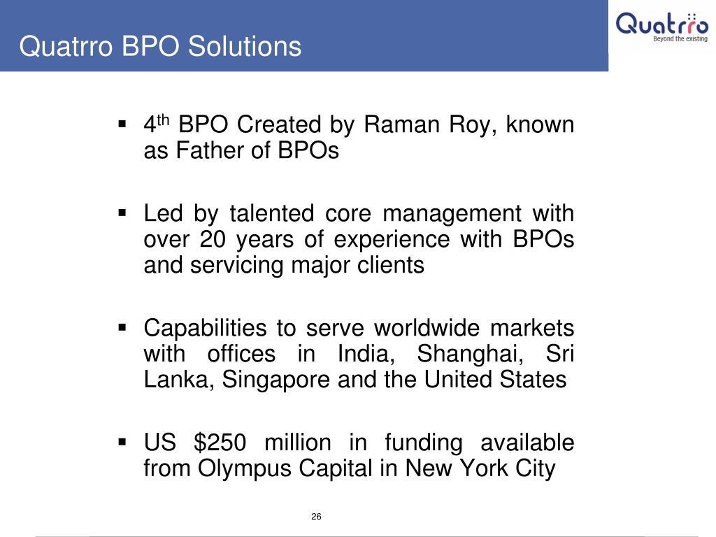 Quatrro BPO Solutions
