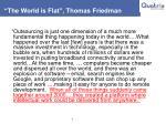 the world is flat thomas friedman
