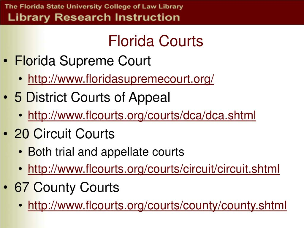 Florida Courts