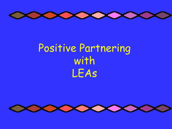 Positive Partnering