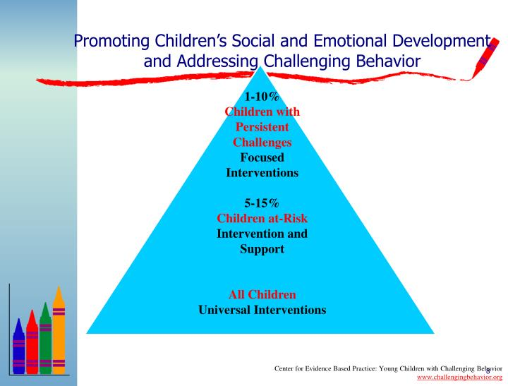 Promoting Children's Social and Emotional Development and Addressing Challenging Behavior