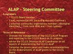 alap steering committee