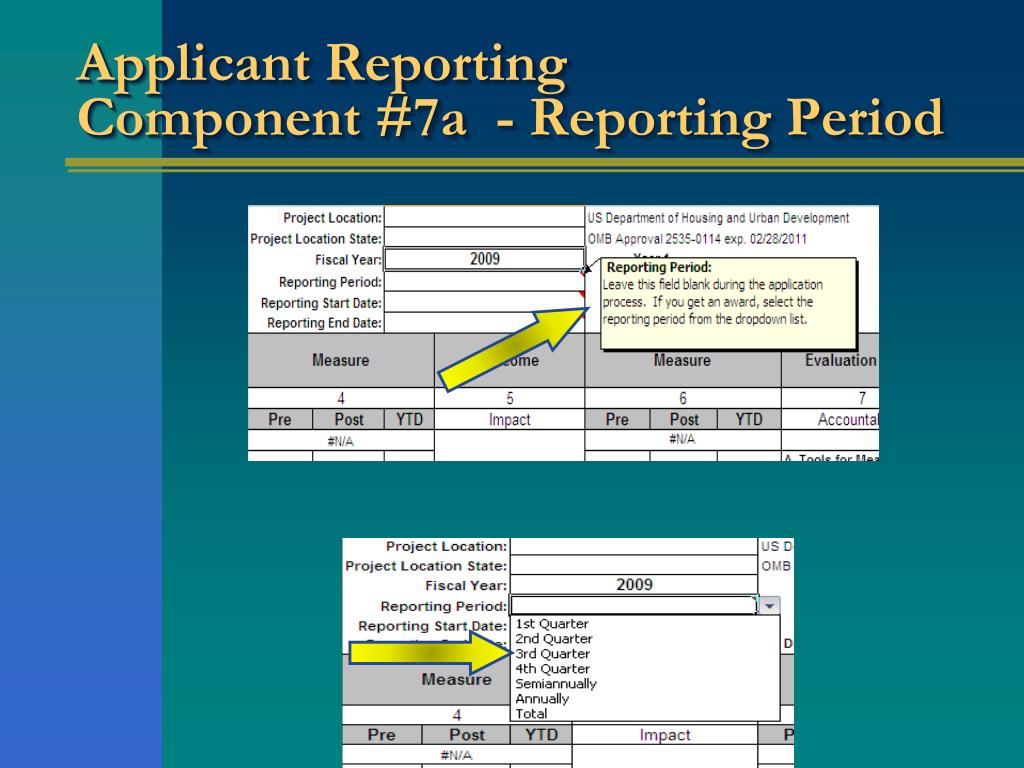 Applicant Reporting