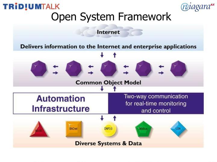 Open System Framework