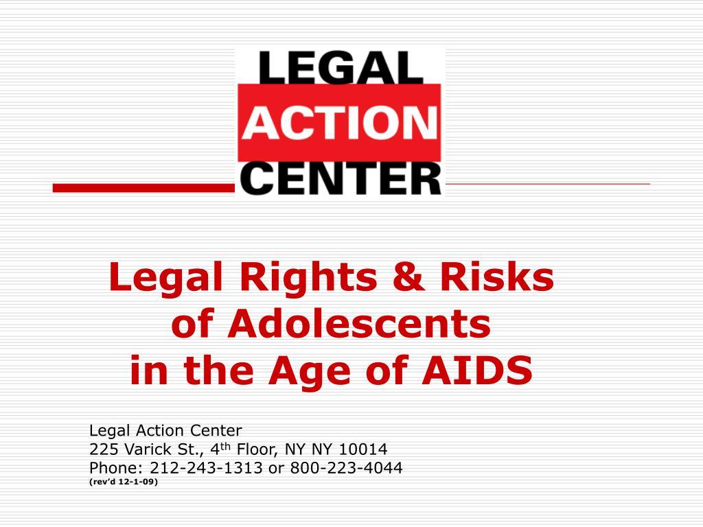 Legal Rights & Risks