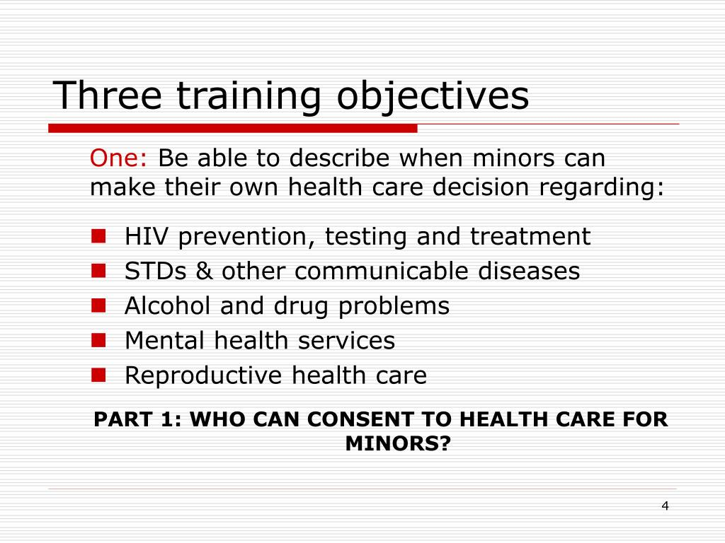 Three training objectives