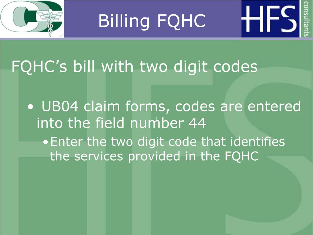 Billing FQHC