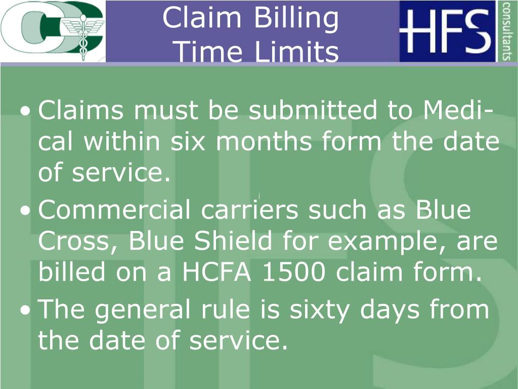 Claim Billing