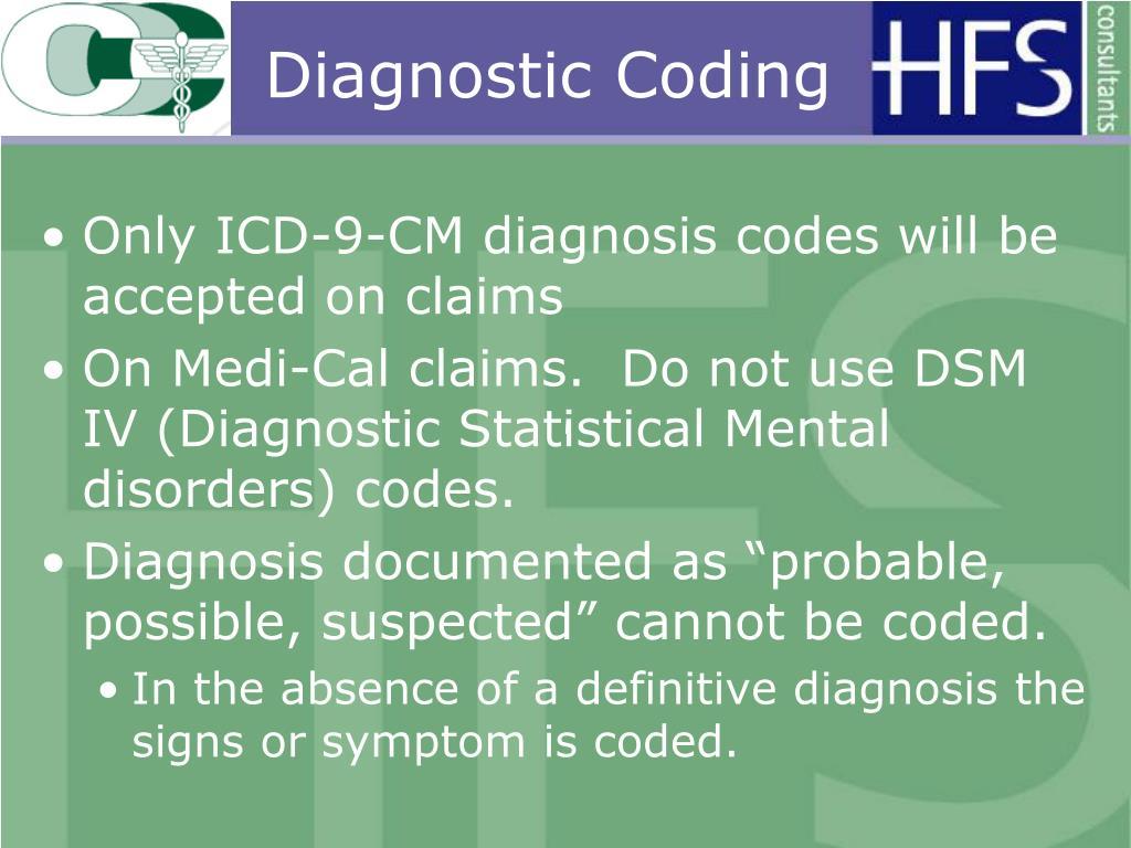 Diagnostic Coding