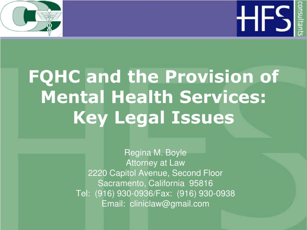 FQHC and the Provision of Mental Health Services: