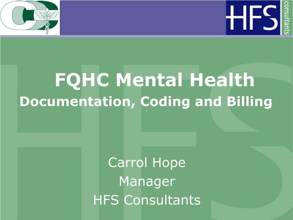 FQHC Mental Health