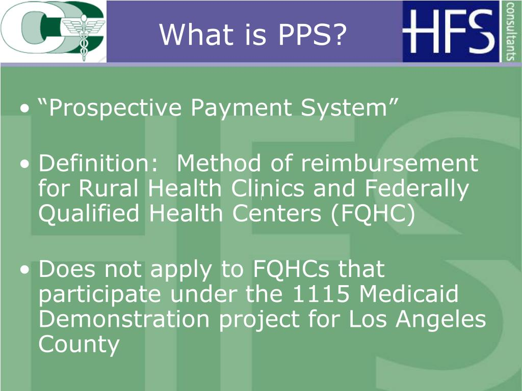 What is PPS?