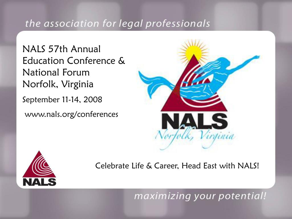 NALS 57th Annual Education Conference & National Forum