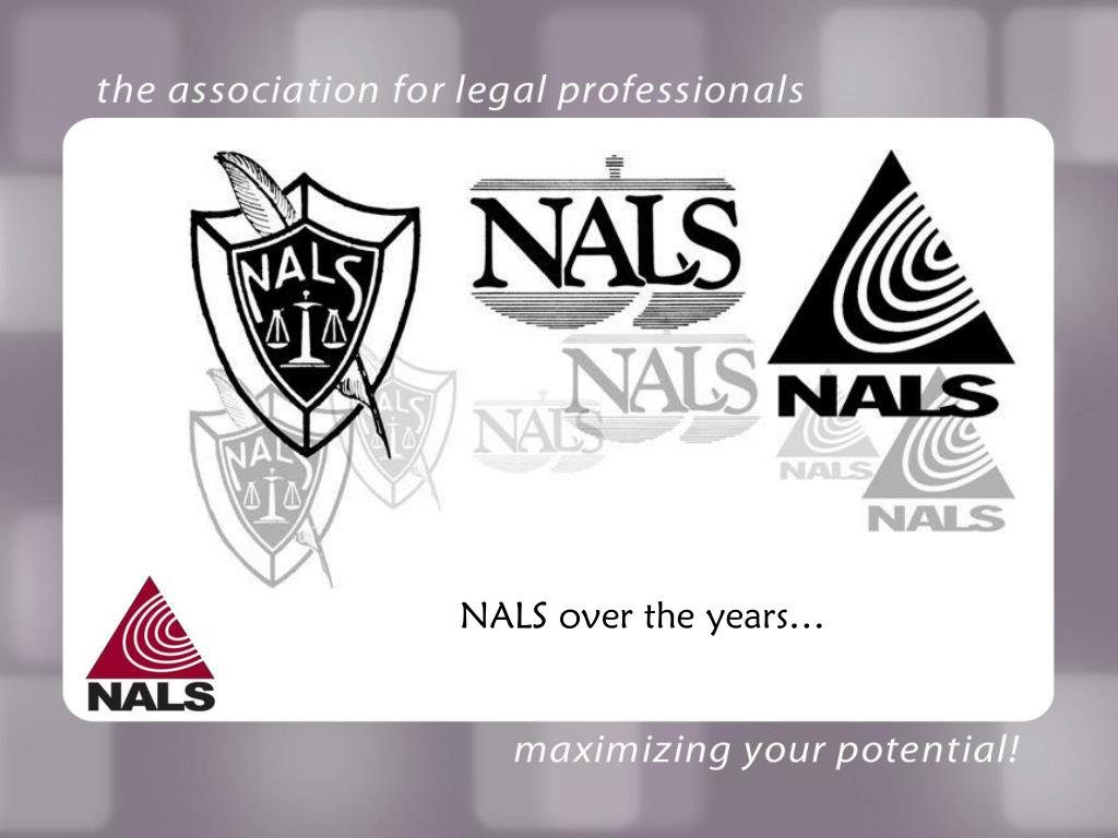 NALS over the years…