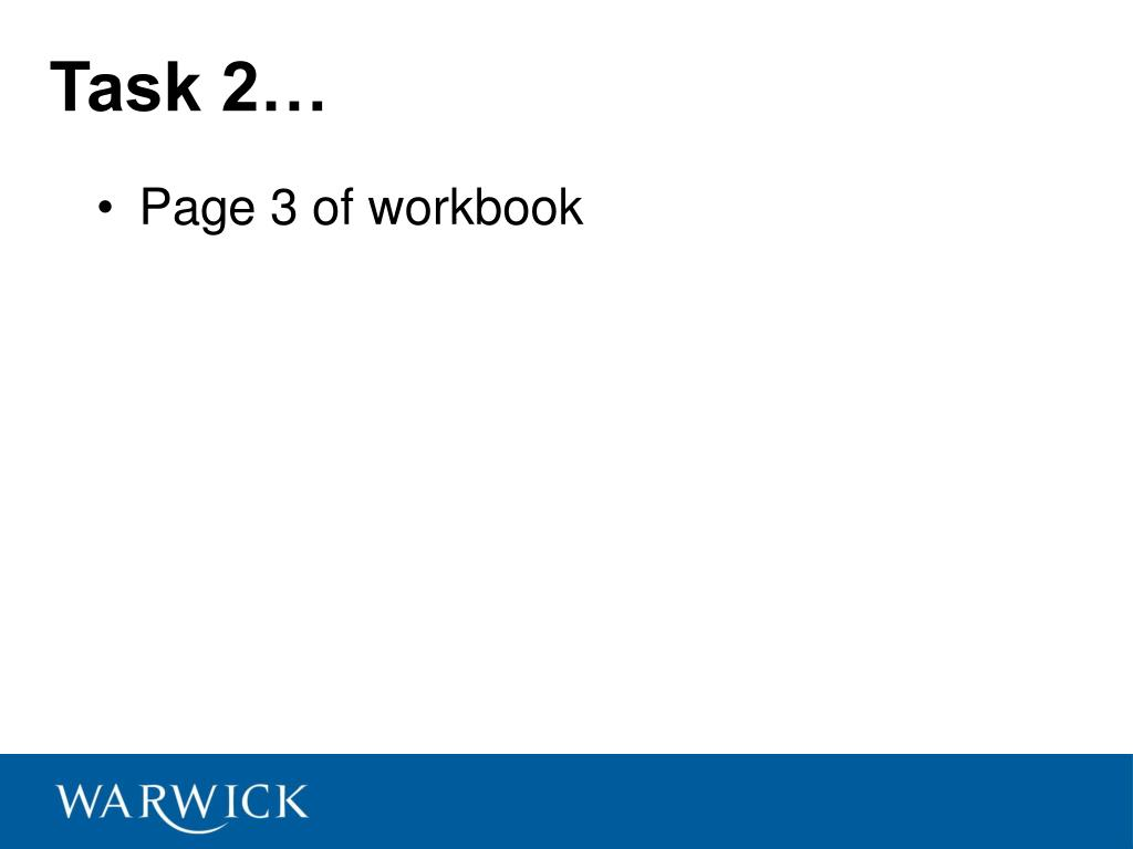 Task 2…