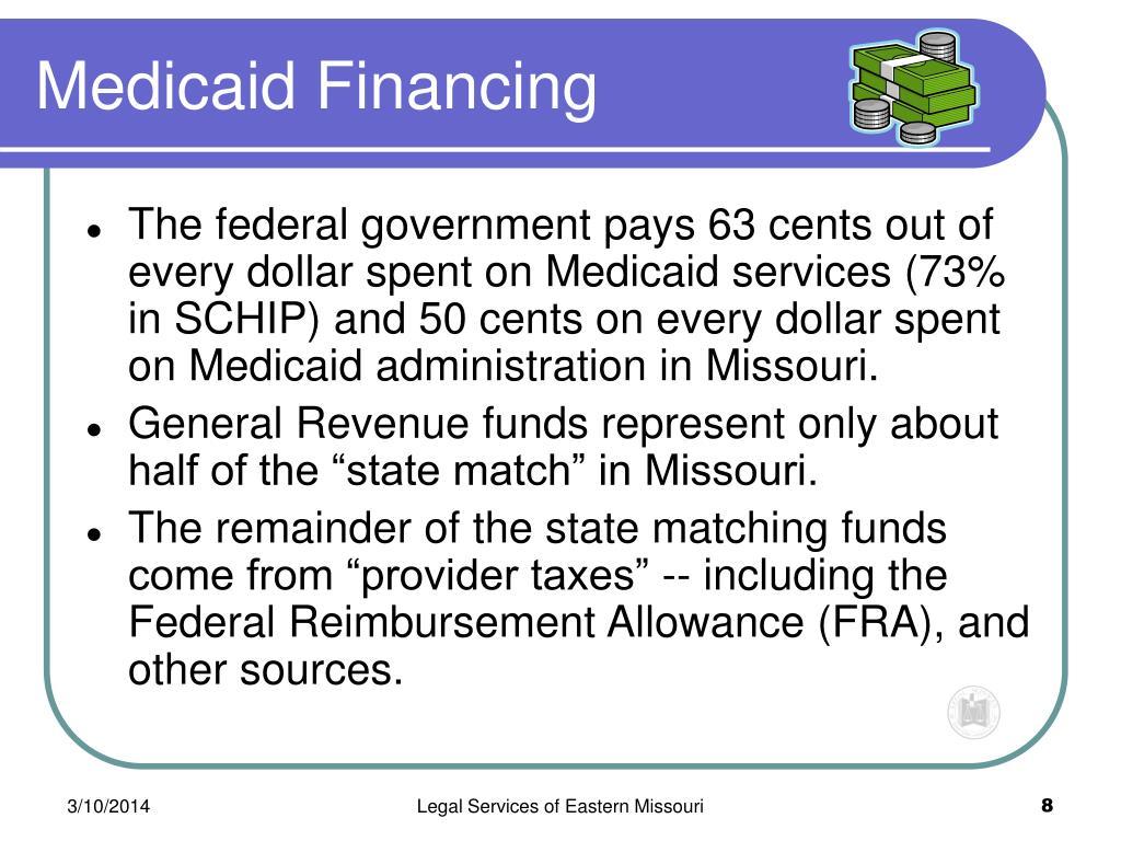 Medicaid Financing