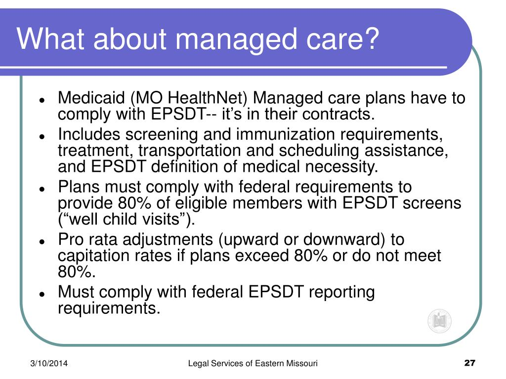 What about managed care?