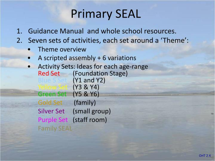 Primary SEAL
